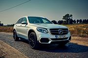 Titelbild Mercedes-Benz GLC F-Cell Brennstoffzellenauto
