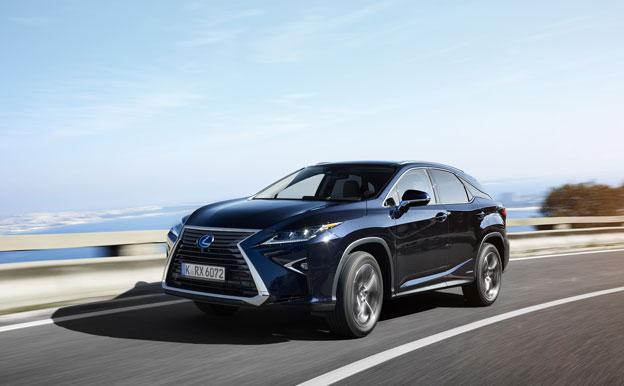 Lexus RX450h Hybrid Hybridauto Hybridantrieb