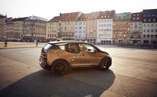 BMW i3 Elektroauto Elektrofahrzeug