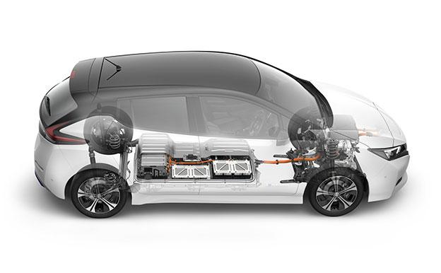 Nissan Leaf ZE1 Elektroauto Elektrofahrzeug
