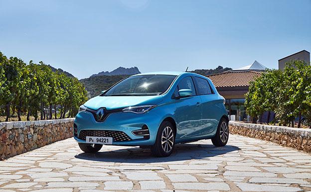Renault Zoe Elektroauto Elektrofahrzeug