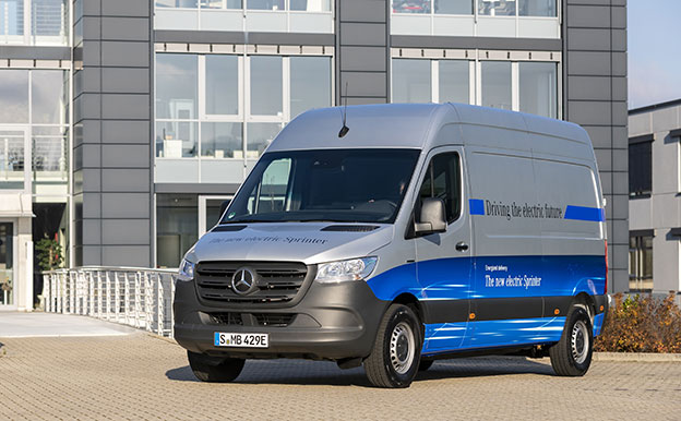 Mercedes-Benz eSprinter Elektroauto