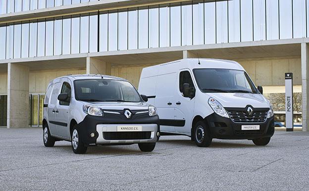 Renault Kangoo Z.E. und Master Z.E. Elektroautos