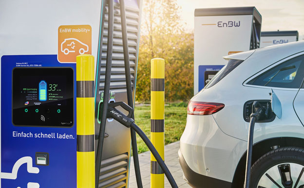 EnBW mobility+ Smartphone App Elektroauto laden