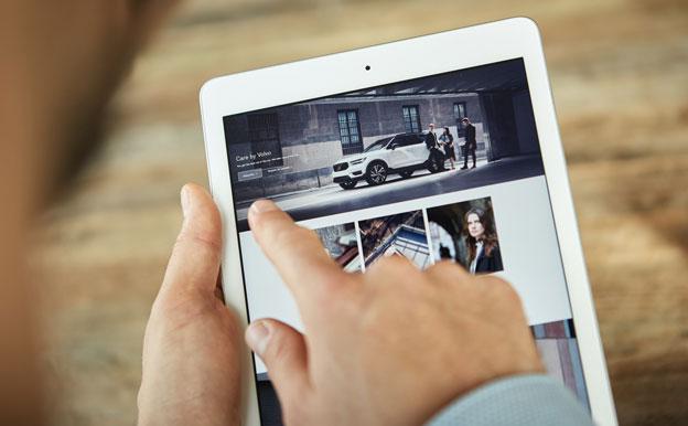 Care by Volvo Auto-Abo online abschließen