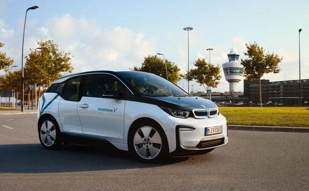 SHARE NOW Carsharing Deutschland Elektroauto BMW i3