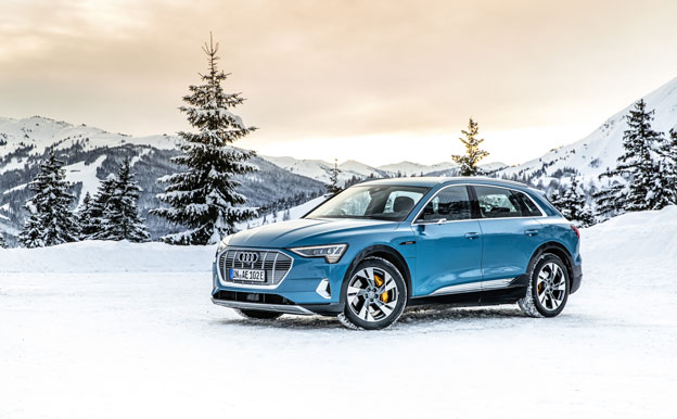 Audi e-tron Elektroauto Elektro-SUV
