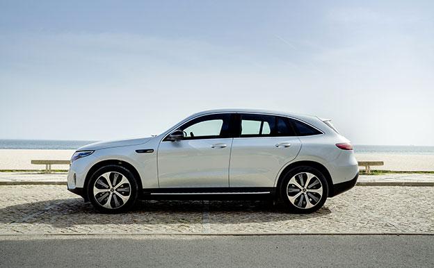 Mercedes-Benz EQC Elektroauto Elektro-SUV