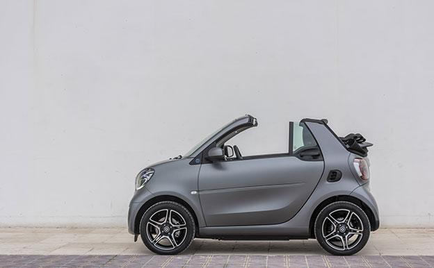 smart EQ fortwo cabrio Elektroauto Cabriolet