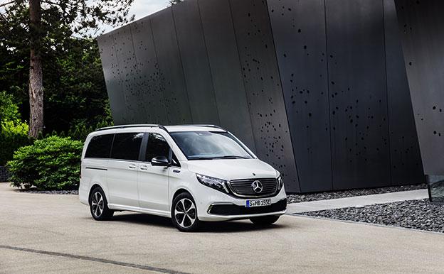 Mercedes-Benz EQV Elektroauto Elektro-Van 9-Sitzer