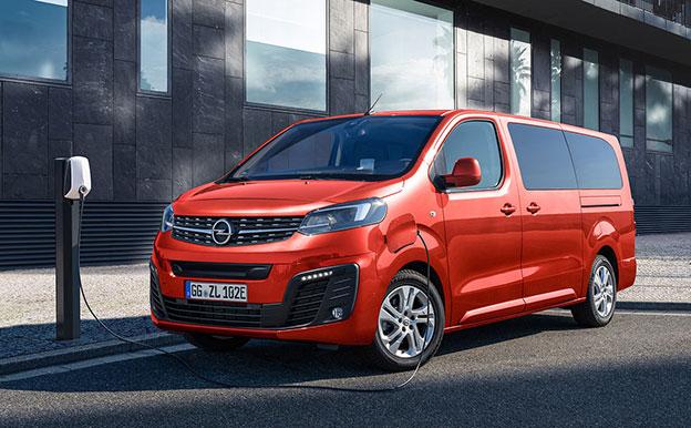 Opel Zafira-e Life Elektroauto Elektro-Van 9-Sitzer