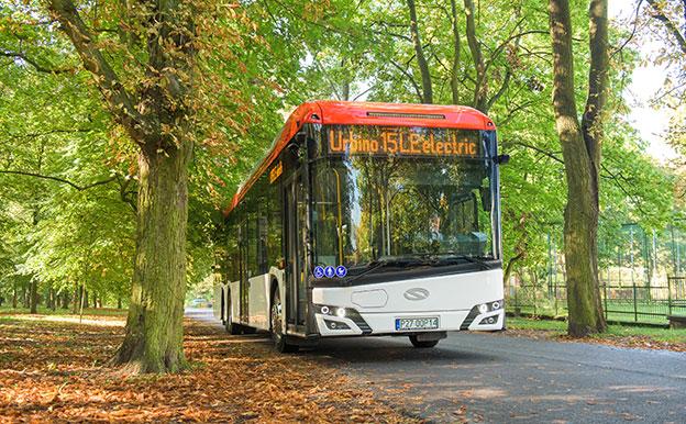 Solaris Urbino 15 LE electric Elektrobus Elektro-Stadtbus
