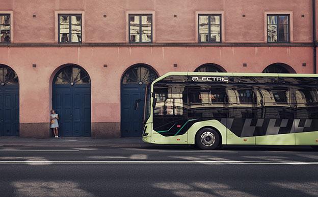Volvo 7900 Electric Articulated Elektrobus Elektro-Stadtbus
