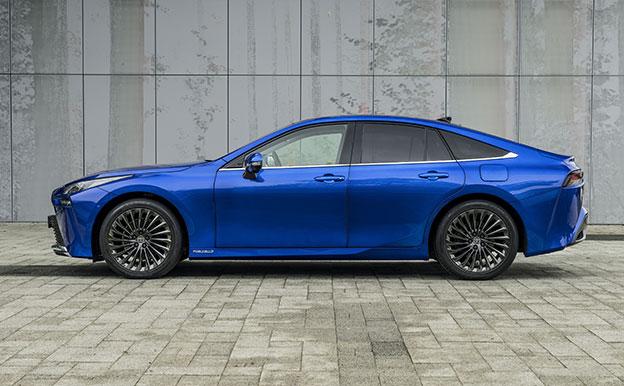 Toyota Mirai Brennstoffzellenauto Wasserstoff