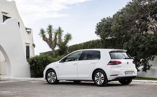 VW e-Golf (100 kW) Elektroauto Elektro-Kompaktklasse