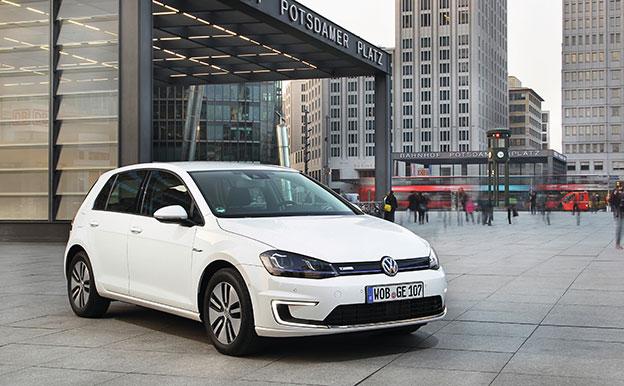 VW e-Golf (85 kW) Elektroauto Elektro-Kompaktklasse