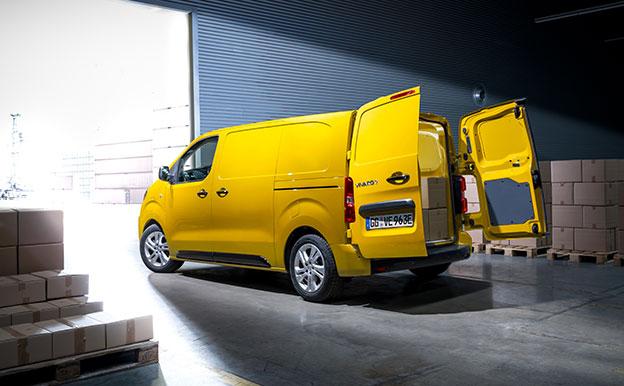 Opel Vivaro-e Elektroauto Elektro-Kastenwagen