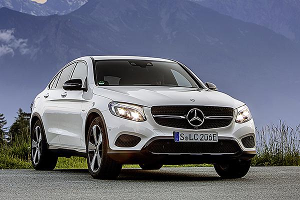 Mercedes-Benz GLC 350 e Coupe Plug-In Hybrid