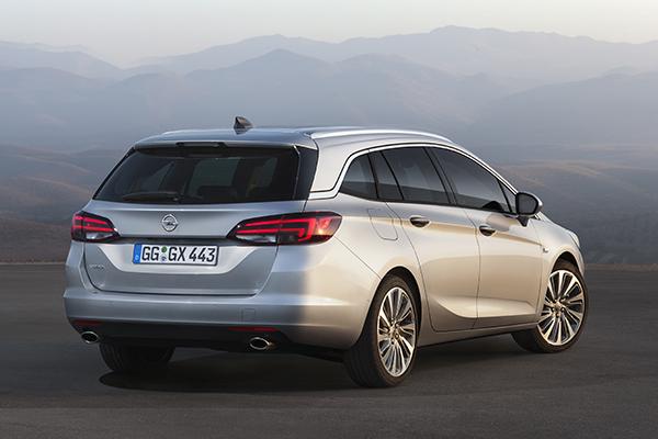 Opel Astra Sports Tourer CNG Erdgas