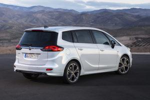 Opel Zafira CNG Erdgas