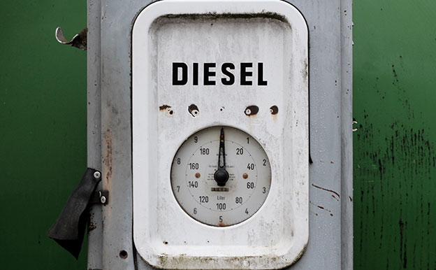 Titelbild Diesel Tankstelle
