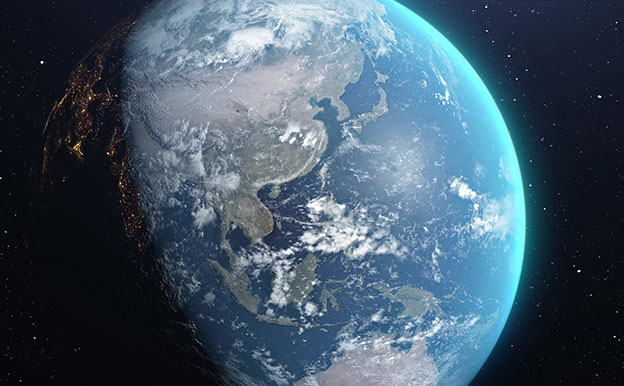 Titelbild Erde Globus