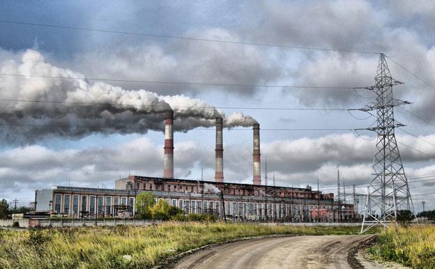 Titelbild Kraftwerk Emissionen