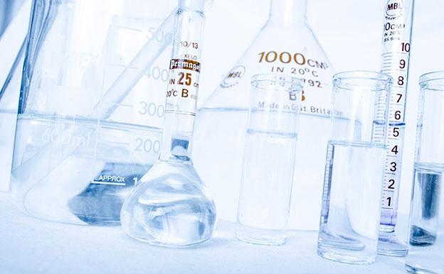 Titelbild Labor Reagenzgläser