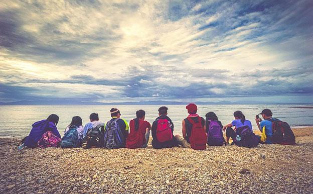 Titelbild Menschen Gruppe