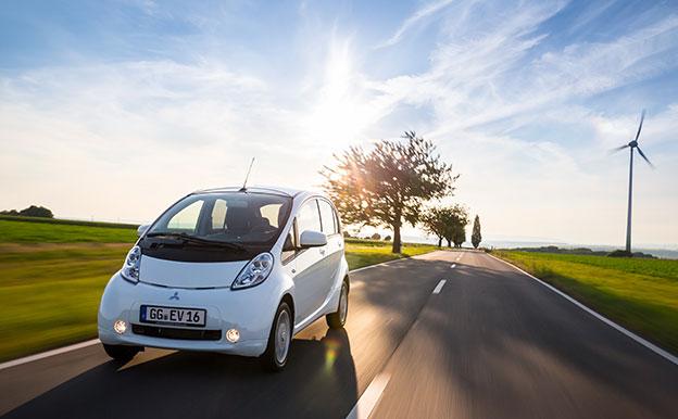 Titelbild Mitsubishi i-MiEV Electric Vehicle Elektroauto