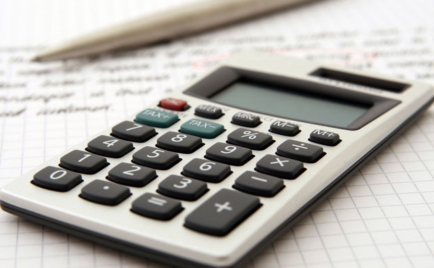 Titelbild Taschenrechner Berechnung