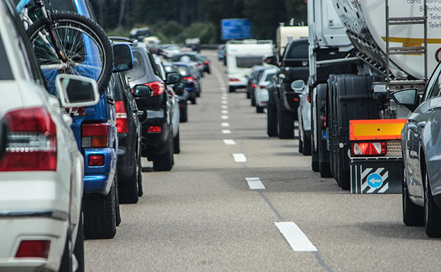 Titelbild Verkehr Stau