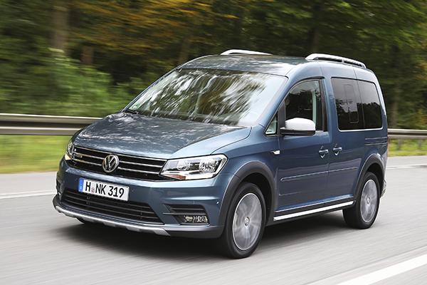 VW Caddy TGI Erdgas CNG