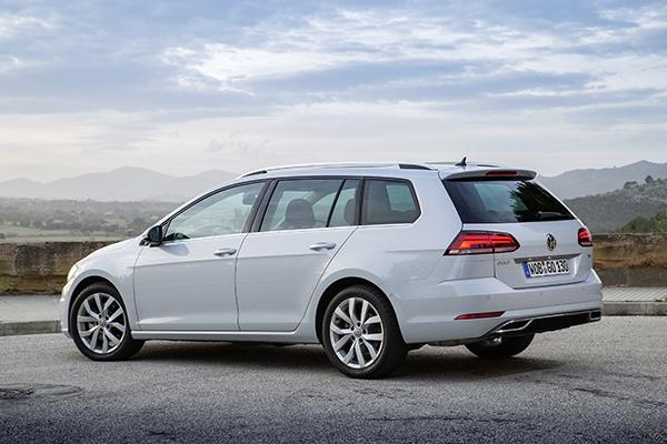 VW Golf Variant TGI Erdgas CNG